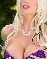 Sexy blonde bombshell Puma...